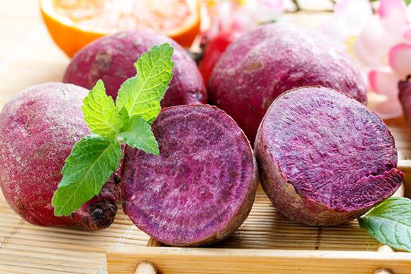 紫薯的营养价值及功效与作用