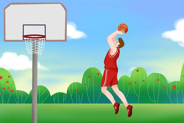 打篮球的好处